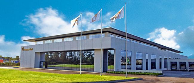 Foto fabbrica in Danimarca